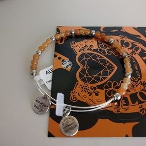 NWT Alex and Ani Color Classics Marigold Beaded